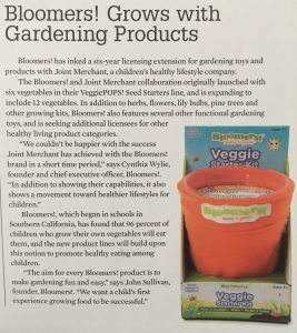 Bloomers Grows with Gardening Products